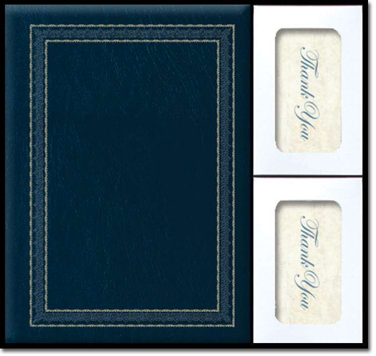 BS Chronicles Leather Blue web - Register Books & Folders