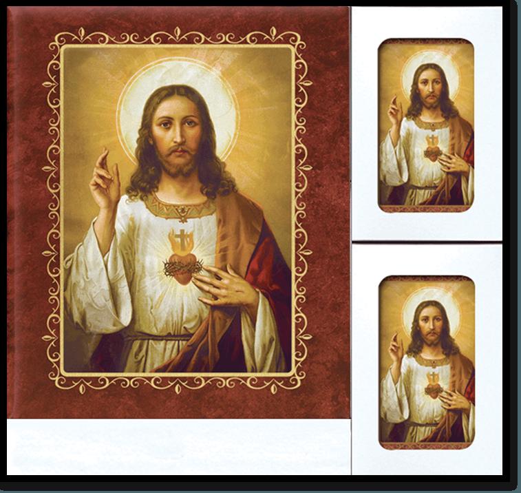 BS Sacred Heart Jesus web - Register Books & Folders