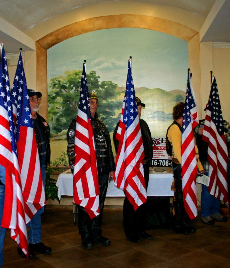 06 Patriot Guard Inside - Snapshots of Veteran's Day of Honor