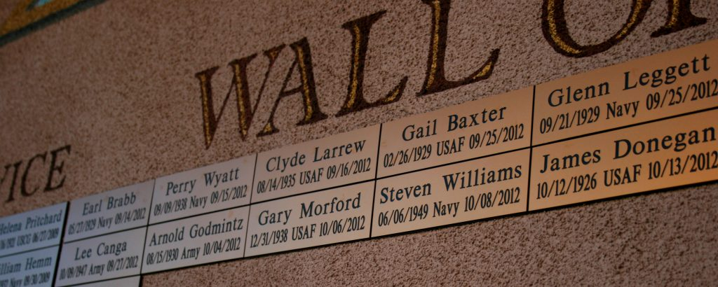 A Plaque for Every Veteran