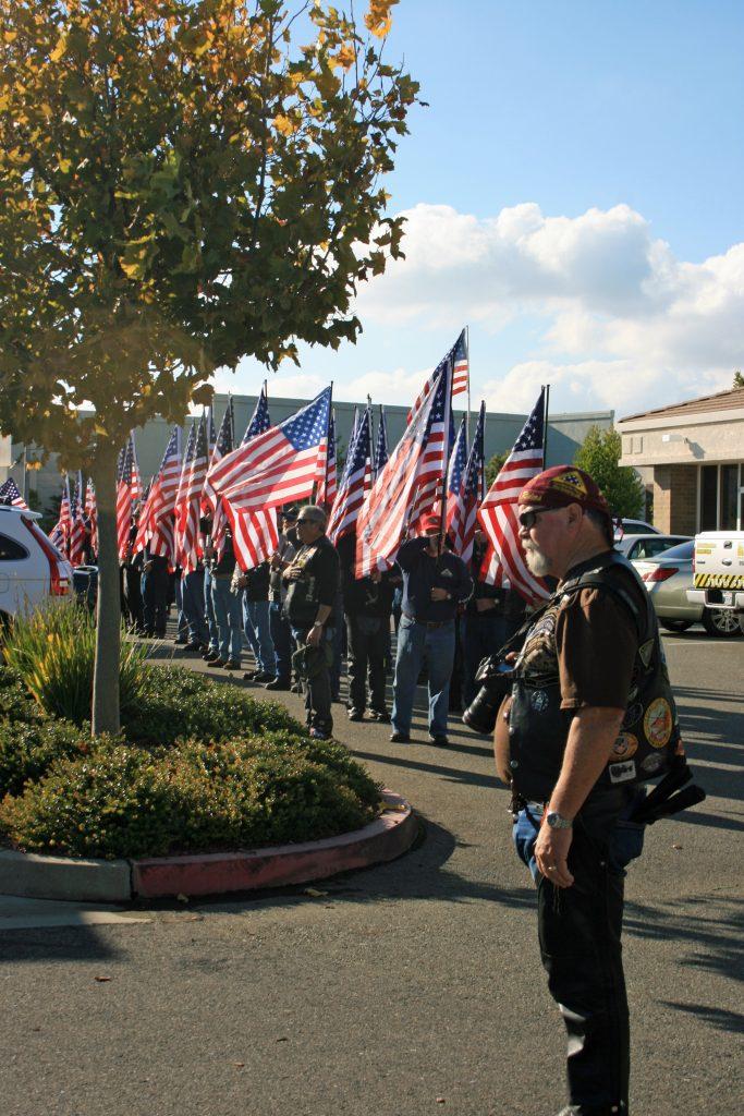 1Patriot Guard Riders - Snapshots of Veteran's Day of Honor