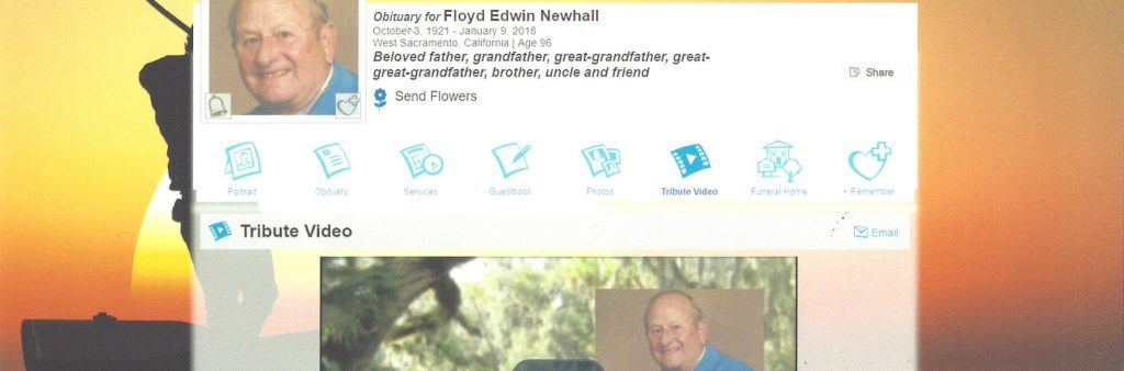 Eternal Tribute Website Floyd Newhall - What is an Eternal Tribute Website?