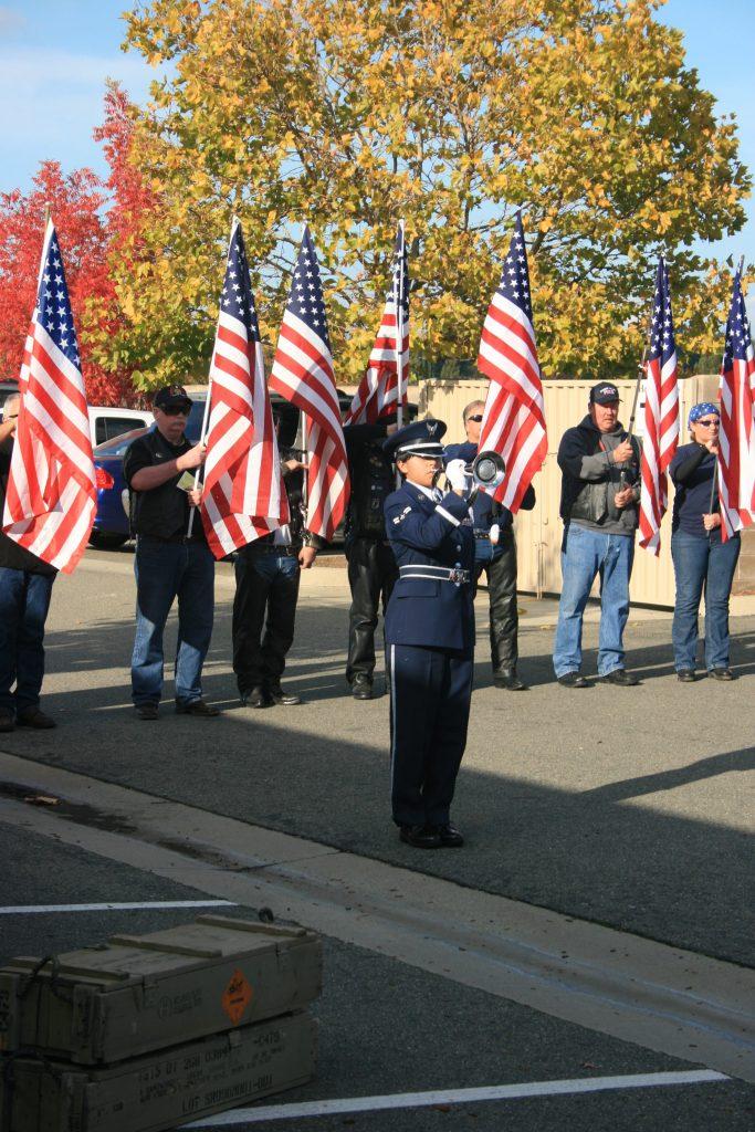 IMG 8051 - Snapshots of Veteran's Day of Honor