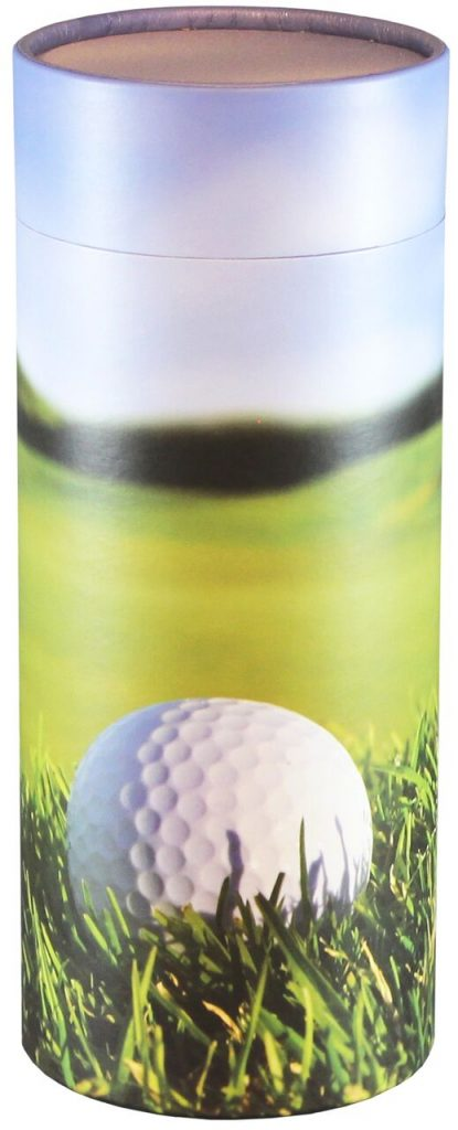 One of our most popular scattering tube styles. Perfect for a golf enthusiast.