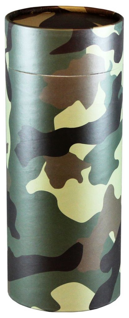 This scattering tube is appropriate for Veterans or those who died on active duty.