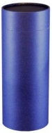 This solid navy scattering tube is perfect for personalization.